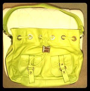 B. MAKOWSKY SPRING GREEN BAG NEVER USED